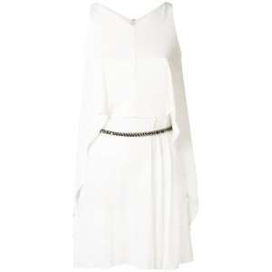 Versace Collection - sleeveless chain belt dress - women - ポリアミド/viscose - 44