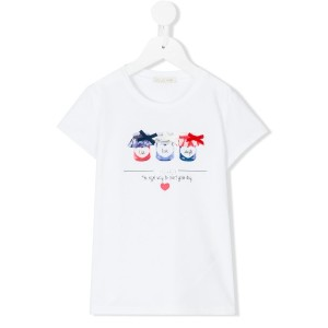 Liu Jo Kids - live laugh love T-shirt - kids - コットン/スパンデックス - 2歳