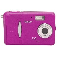 VistaQuest VQ7024J Purple トイデジカメラ VQ7024J-P