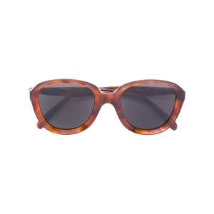 Céline Eyewear - chunky framed sunglasses - women - アセテート - 51