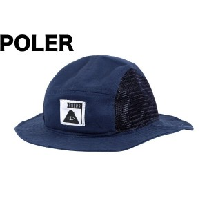 Poler Lunchpail Bucket Hat Blue Steel ハット 並行輸入品