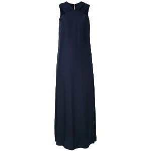 Aspesi - shift long dress - women - シルク - 40