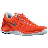 (取寄)ナイキ レディース ルナグライド + 4 Nike Women's LunarGlide + 4 Bright Crimson Blue Tint Reflect Silver