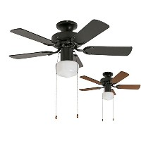2WAY USE TRADITIONAL CEILING FAN LIGHT BK(002952) 軽量 簡易取付 メルクロス 北欧 シーリングファン ライト 【XCE-003】