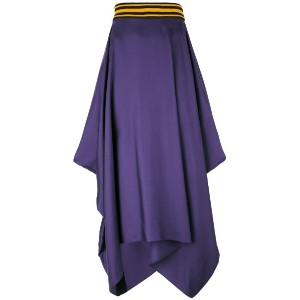 Roksanda - asymmetric draped skirt - women - シルク - 10
