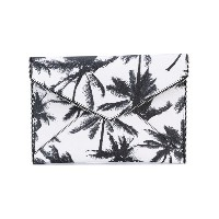 Rebecca Minkoff - palm tree clutch bag - women - レザー - ワンサイズ