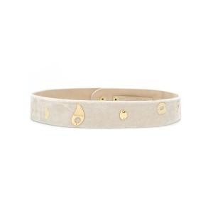 Lilly Sarti - velvet belt - women - シルク/ビスコース - M