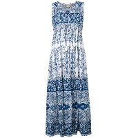 Sea - printed maxi dress - women - コットン - 2