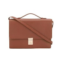 Paul Smith - accordion detail satchel - women - カーフレザー - ワンサイズ