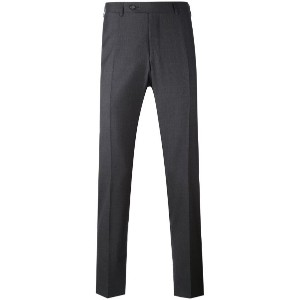 Canali - straight leg trousers - men - ウール - 50