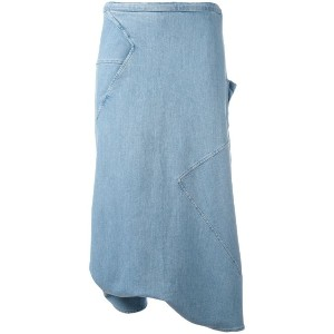 Andrea Ya'aqov - long denim skort - women - コットン - L