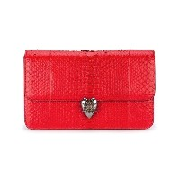 Alexander McQueen - Heart clutch - women - レザー - ワンサイズ