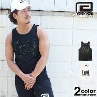 REVERSAL リバーサル タンクトップ GREEN BIG MARK TANKTOP [RV17SS022] 【reversal タンクトップ reversal REVERSAL メンズ...