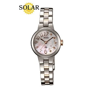 [オリエント]ORIENT 腕時計 iO Shooting Star Solar Quartz Ladies SWD02003W0 《逆輸入品》