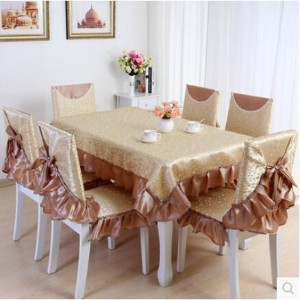 Pastoral tablecloths coffee table cloth tablecloth chair chair cotton linen cushions thick cushion