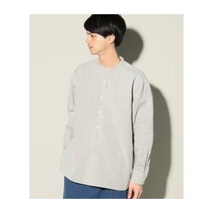 CODELANE STRIPE 40s BAND COLLAR SHIRT【ジャーナルスタンダード/JOURNAL STANDARD シャツ・ブラウス】