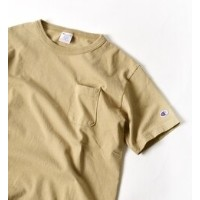 """Champion: """"MADE IN USA"""" T1011 ポケット Tシャツ【シップス/SHIPS Tシャツ・カットソー】"""