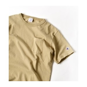"Champion: ""MADE IN USA"" T1011 ポケット Tシャツ【シップス/SHIPS Tシャツ・カットソー】"
