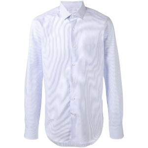 Ermanno Scervino - striped shirt - men - コットン - 50