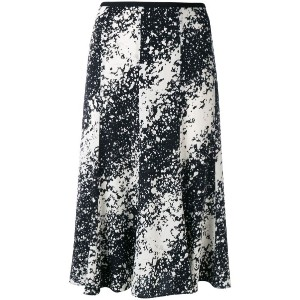 Diane Von Furstenberg - splattered skirt - women - シルク/スパンデックス - 6
