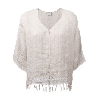 Forte Forte - fringed jumper - women - リネン - 0