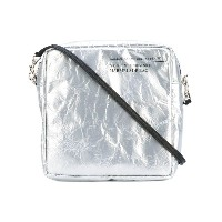 Golden Goose Deluxe Brand - square metallic satchel - women - レザー/PVC - ワンサイズ