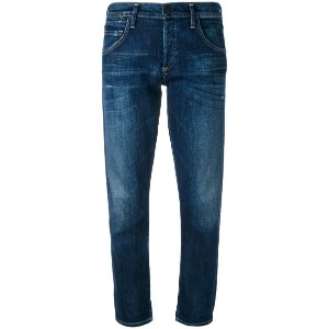 Citizens Of Humanity - cropped straight leg jeans - women - コットン/ポリウレタン - 27