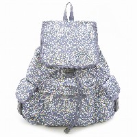 LeSportsac レスポートサック リュックサック 7839 VOYAGER BACKPACK D749 Bubble Tea Dot [並行輸入商品]