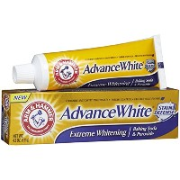 Arm & Hammer Advance White Fluoride Anti-Cavity Toothpaste with Baking Soda & Peroxide - 4.3 oz by...