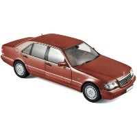1/18scale ノレブ Norev Mercedes-Benz S500 1997 Red metallic メルセデス ベンツ