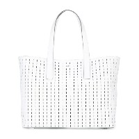 DKNY - embroidered tote - women - レザー - ワンサイズ