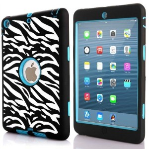 ROKE iPad Air ケース Full-body Hybrid Protective Case PC + TPU 2層 ハードケース for iPad Air 2013 iPad 5 耐衝撃...