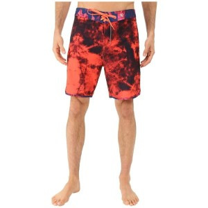 ハーレー Hurley メンズ 水着 ボトムのみ【Phantom Shibori Boardshorts】Bright Crimson