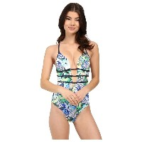 ジェッツ JETS by Jessika Allen レディース 水着 スイムウェア【Sublime Plunge One-Piece Swimsuit】Zest