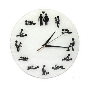24hours Sex Position Wall Clock by Forti [並行輸入品]