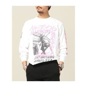 SNMC×TRISECT2 L/S TEE NEO TOKYO ILLUSION【ジャーナルスタンダード/JOURNAL STANDARD Tシャツ・カットソー】