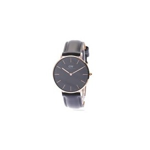 【SALE 35%OFF】ダニエル ウェリントン Daniel Wellington CLASSIC BLACK Sheffield Rose gold 36mm (BLACK)