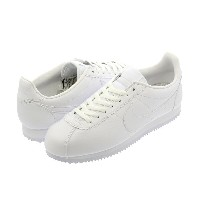 NIKE CLASSIC CORTEZ LEATHER ナイキ クラシック コルテッツ レザー WHITE/WHITE