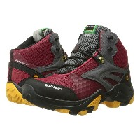 ハイテック Hi-Tec メンズ シューズ・靴 ブーツ【V-Lite Flash Fast Hike I-Shield Waterproof】Core Red/Core Gold