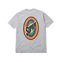 SUPREME シュプリーム 2016SS 灰 (S) Spin TEE プリント Tシャツ GRAY