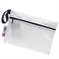 Ron Herman(ロンハーマン) x MELO(メロ) ZIP POUCH (ポーチ) WHITE 288-001143-010x【新品】