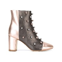 Polly Plume - studded ankle boots - women - カーフレザー/レザー - 40