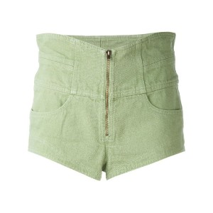 Isabel Marant - denim shorts - women - コットン - 36