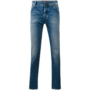 Jacob Cohen - denim slim-fit jeans - men - コットン/スパンデックス - 33