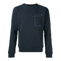 Woolrich - zipped chest pocket sweatshirt - men - コットン/ポリエステル - XL