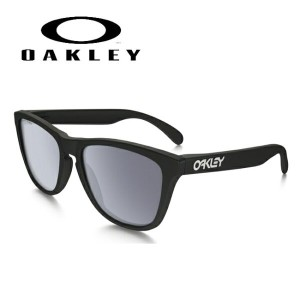OAKLEY/オークリー サングラス Frogskins Polarized (Asia Fit) Polished Black oo9245-02 【雑貨】【サングラス】日本正規品