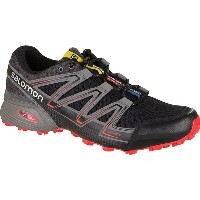 サロモン Salomon メンズ ランニング シューズ・靴【Speedcross Vario Trail Running Shoe】Black/Magnet/Fiery Red