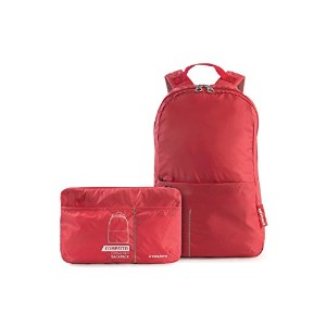 TUCANO 軽量 折り畳み コンパクト収納可能 バックパック 防水仕様 レッド Backpack COMPATTO XL Red BPCOBK-R