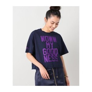【THE DAY ON THE BEACH/ザデイオンザビーチ】 Woww my goodness Tシャツ【ジャーナルスタンダード/JOURNAL STANDARD Tシャツ・カットソー】