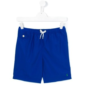 Polo Ralph Lauren - drawstring swim shorts - kids - ポリエステル - 14 yrs